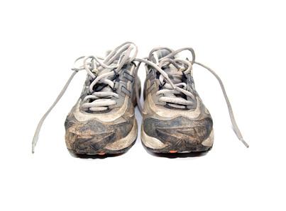 So reinigen Sie Ihre Laufschuhe richtig!