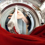 Laufsocken der Laufschuhe waschen
