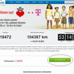 Millionenlauf – Laufen für einen guten Zweck – Die Spendenaktion der Deutschen Telekom