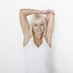 Dehnübung Schultermuskulatur