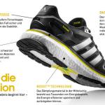 Die neue Adidas BOOST Technik für Laufschuhe