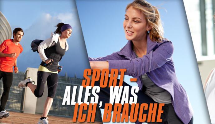 """Tchibo Laufbekleidung: """"Sport - Alles, was ich brauche"""""""