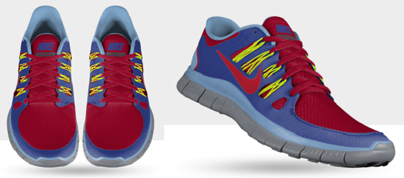 Nike Free 5.0+ ID Laufschuh