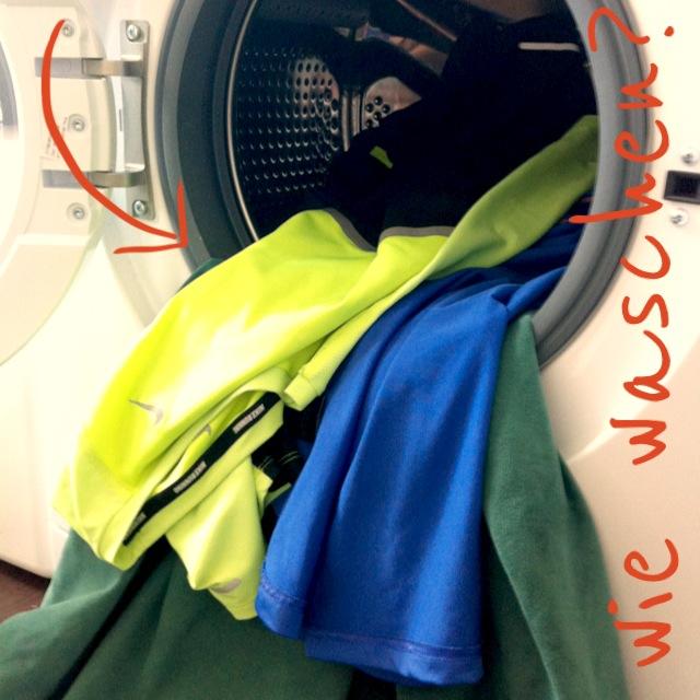 Sportkleidung richtig waschen und pflegen