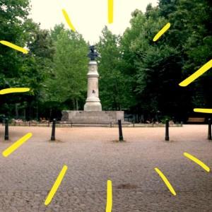Denkmal für Friedrich II.Volkspark Friedrichshain