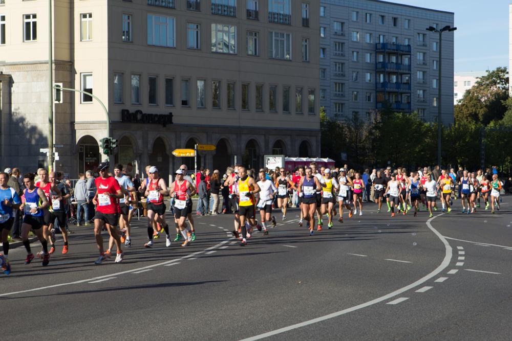 Teilnehmer Berlin Marathon 2014