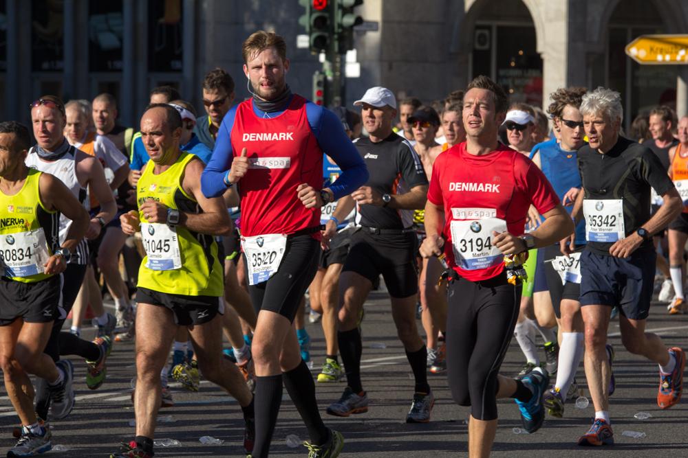 Teilnehmer aus Dänemark (40. Berlin Marathon)
