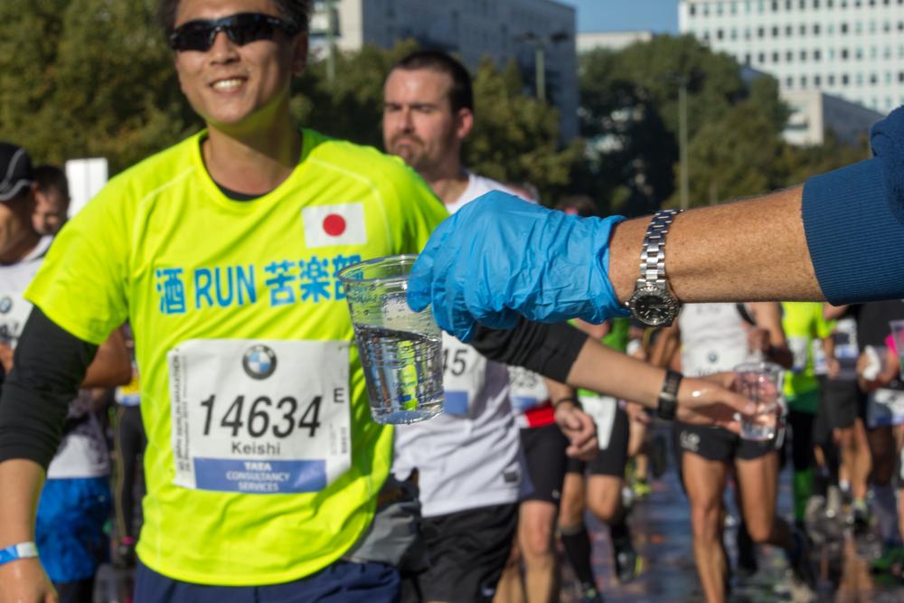 Teilnehmer aus Japan (40. Berlin Marathon)