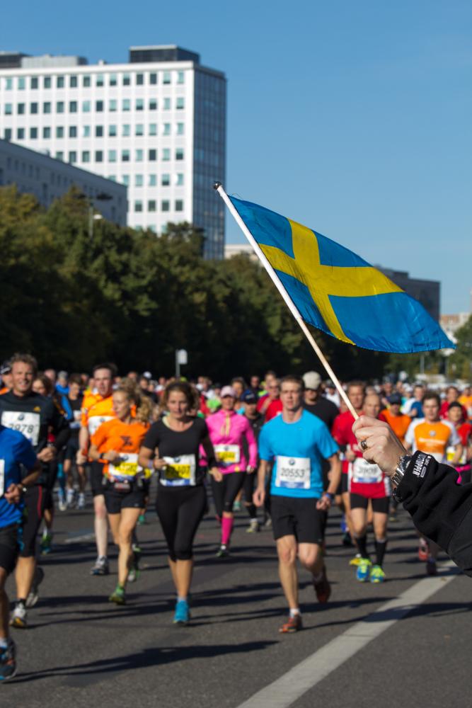 Teilnehmer aus Schweden (40. Berlin Marathon)