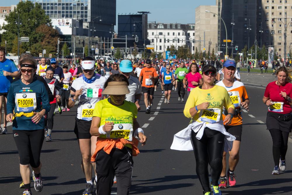 Teilnehmer aus Brasilien (40. Berlin Marathon)
