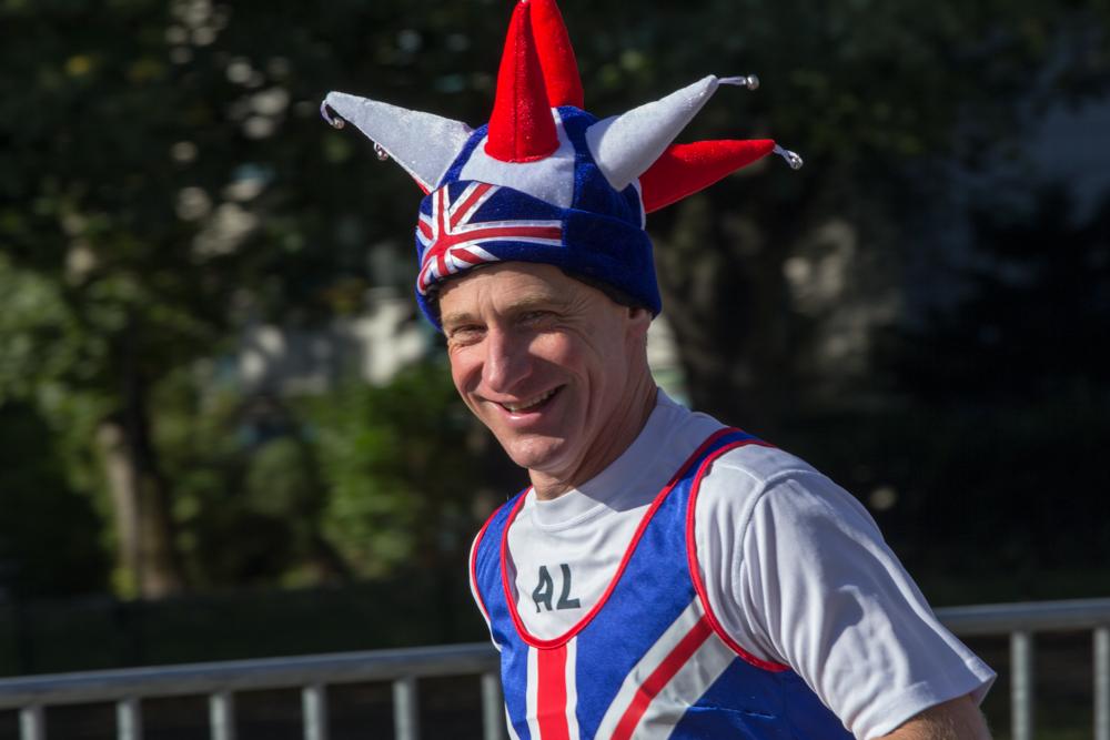 Teilnehmer aus England (40. Berlin Marathon)