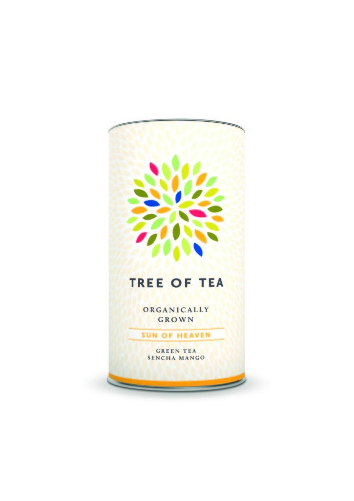 Tree of Tea: Sun of Heaven - Grüner Tee Sencha-Mango