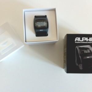Mio Alpha Pulsuhr Verpackung
