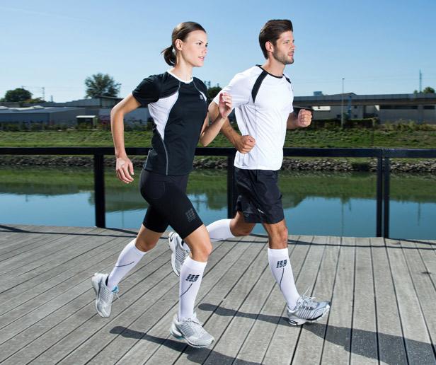 Kompressionsstrümpfen für Läufer - CEP Run Socks 2.0