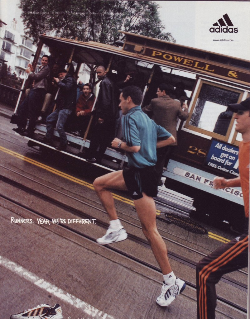 Adidas Werbekampagne: Runners. Yeah, we are different - Cable Car