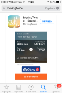 #1: MovingTwice App downloaden