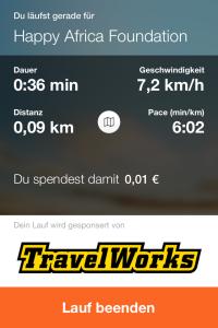 MovingTwice: #3 Laufen und spenden