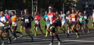 Läufer bei einer Laufveranstaltung