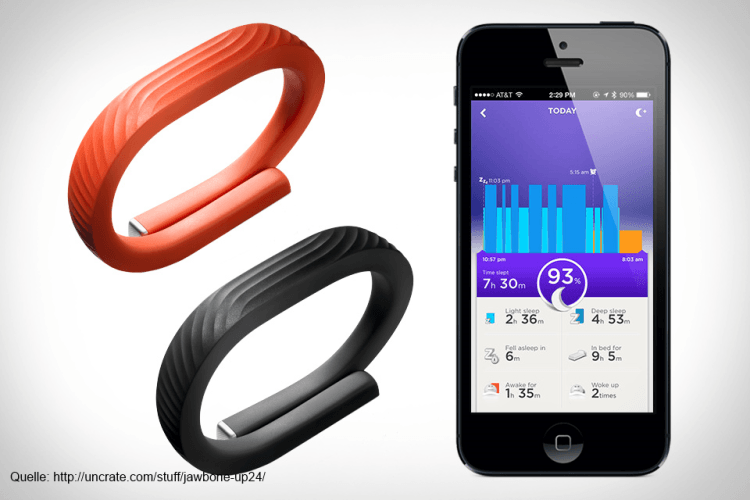 Fitness-Armband UP24 von Jawbone