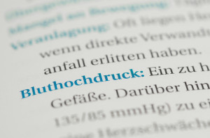 Bluthochdruck Definition
