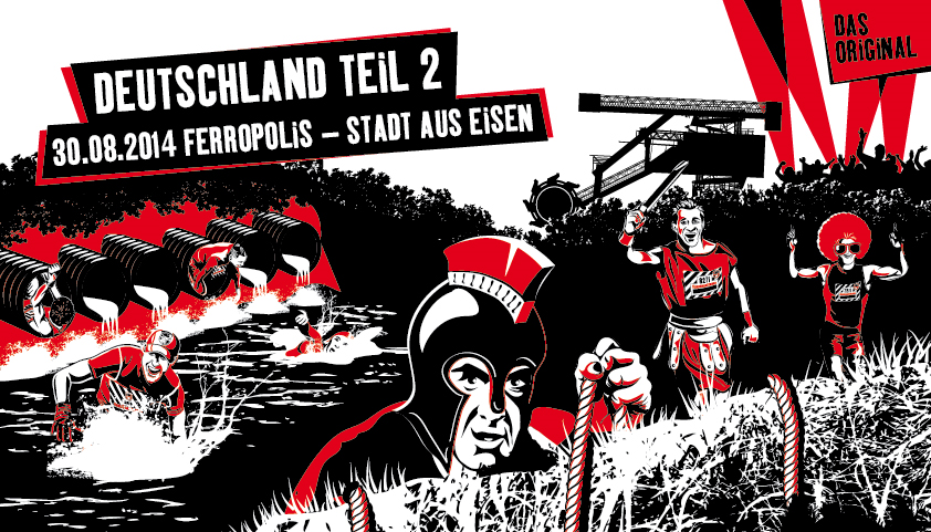Fishermans Friend Strongmanrun 30.August 2014 Ferropolis