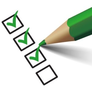 Checkliste Laufschuhe
