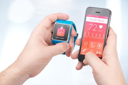 Überflüssige Laufausrüstung: Smartphone mit App