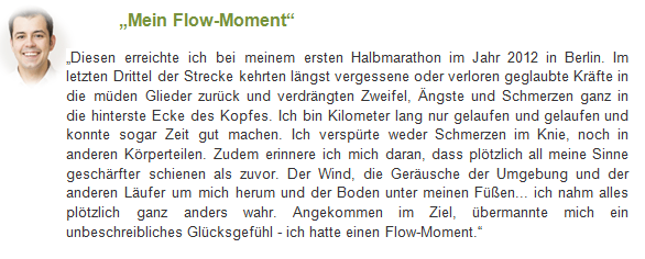 Mein perönlicher Runners High Moment
