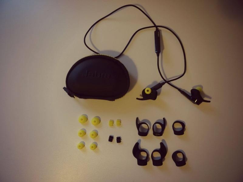 Lieferumfang: Jabra Sport Pulse Wireless Kopfhörer