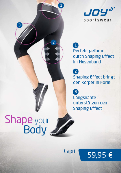 Shape your Body mit JOY BodyFit