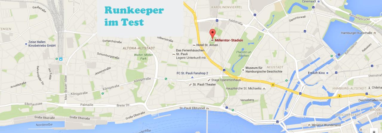 Runkeeper Lauf-App im Test
