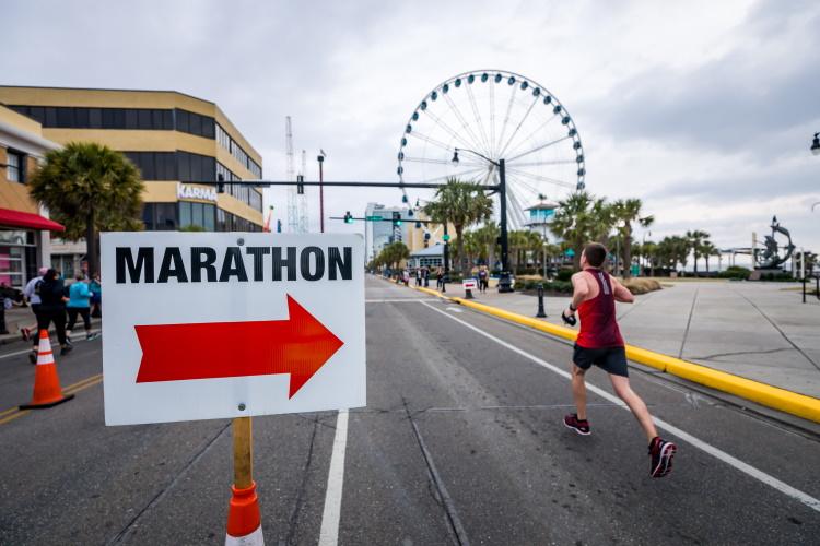 Marathon als Motivation zum Sport